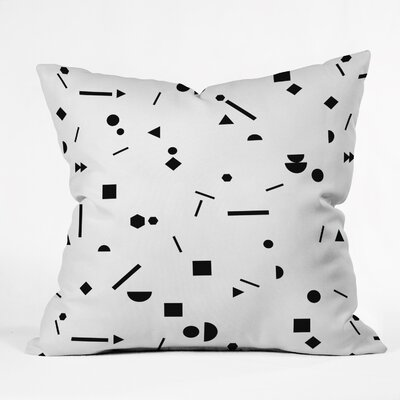 Kester Modern Indoor/Outdoor Throw Pillow Size: 16 H x 16 W x 4 D