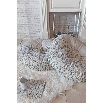 Brook Floor Pillow Size: 26 H x 26 W x 7 D