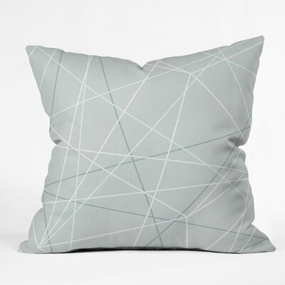Kester Modern Geometric Indoor/Outdoor Throw Pillow Size: 18