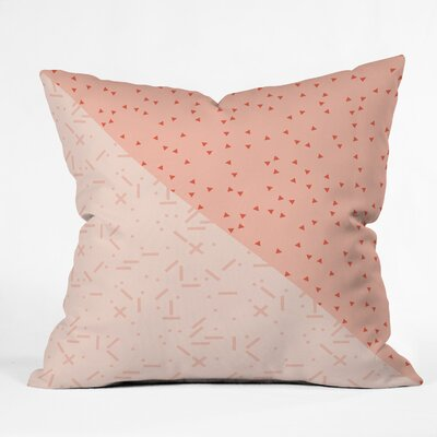 Kester Orange Indoor/Outdoor Throw Pillow Size: 18 H x 18 W x 5 D