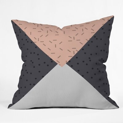 Kester Geometric Indoor/Outdoor Throw Pillow Size: 18 H x 18 W x 5 D