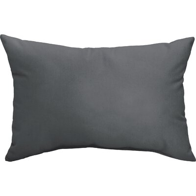 Branan Indoor/Outdoor Pillow Set Color: Charcoal