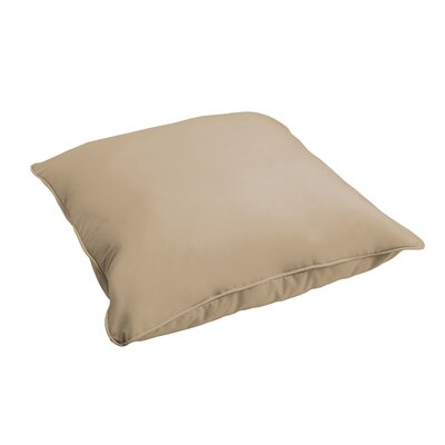 Branan Indoor/Outdoor Floor Pillow Color: Beige