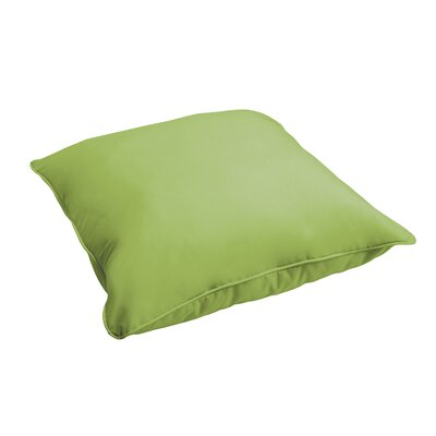 Branan Indoor/Outdoor Floor Pillow Color: Apple Green