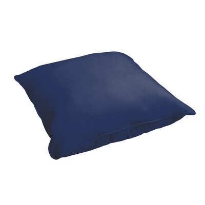 Branan Indoor/Outdoor Floor Pillow Color: Dark Blue
