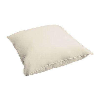 Branan Indoor/Outdoor Floor Pillow Color: Ivory