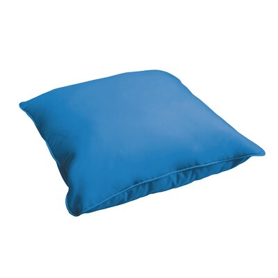 Branan Indoor/Outdoor Floor Pillow Color: Light Blue