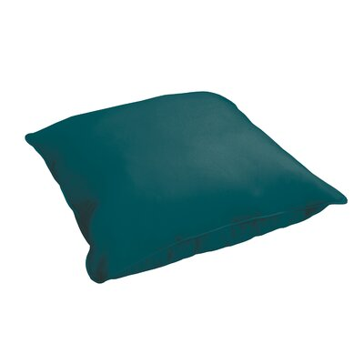 Branan Indoor/Outdoor Floor Pillow Color: Teal