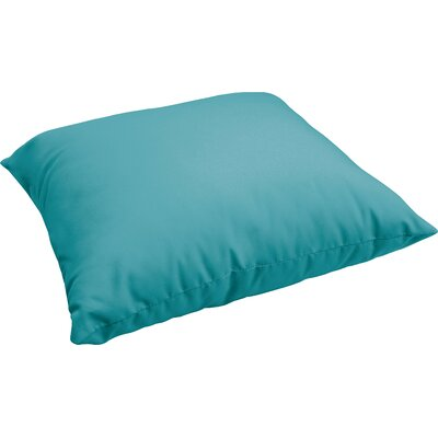 Branan Indoor/Outdoor Floor Pillow Color: Aqua Blue
