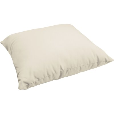 Branan Indoor/Outdoor Floor Pillow Color: Ivory