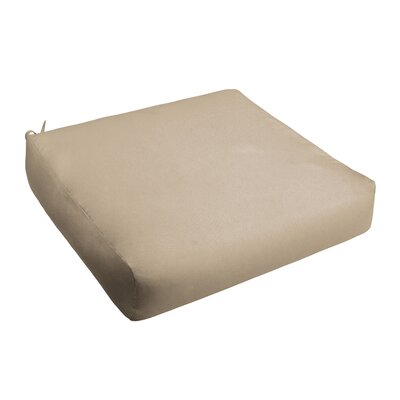Outdoor Chair Cushion Fabric: Beige