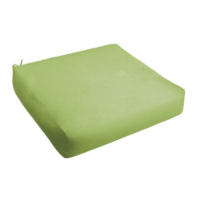 Outdoor Chair Cushion Fabric: Apple Green