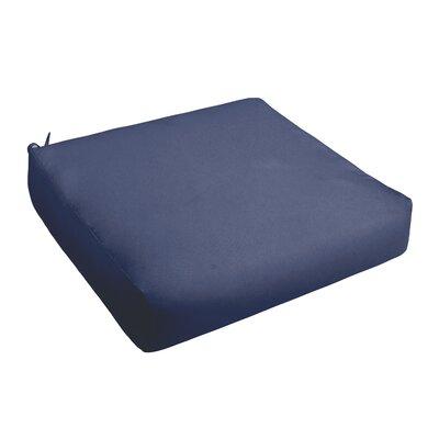 Outdoor Chair Cushion Fabric: Dark Blue