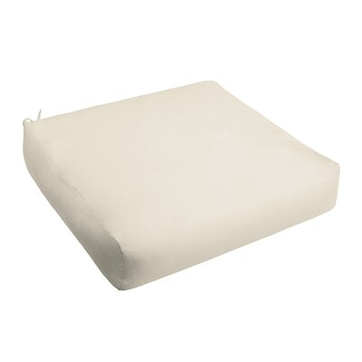 Outdoor Chair Cushion Fabric: Ivory