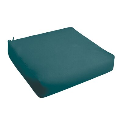 Outdoor Chair Cushion Fabric: Teal