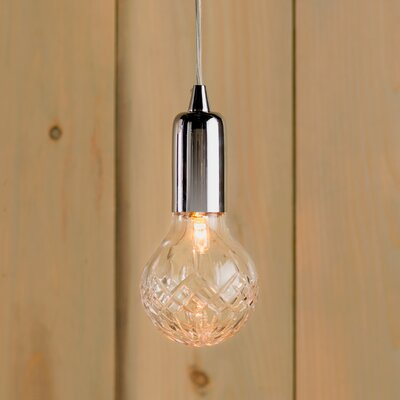 Cyprien 1-Light Halogen Globe Pendant
