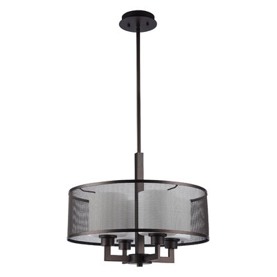 Normandin 4-Light Drum Pendant