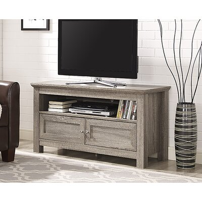 Dunmore 44 Wood Cabinet TV Stand Color: Driftwood