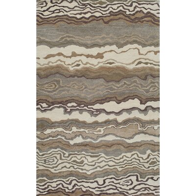 Brooks Hand-Tufted�Sand Area Rug Rug Size: Rectangle 5 x 8