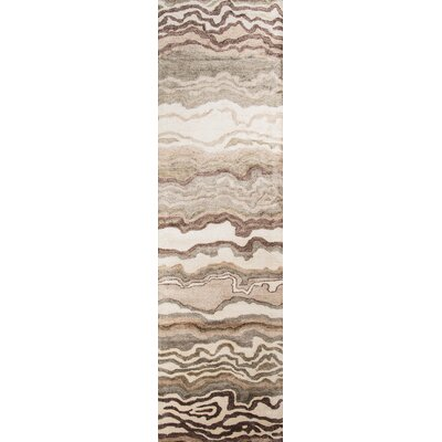 Brooks Hand-Tufted�Sand Area Rug Rug Size: Runner 23 x 8