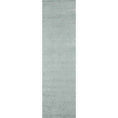 Bridges Hand-Loomed�Seafoam Area Rug Rug Size: Runner 23 x 8