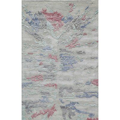 Vallone Hand-Tufted Gray Area Rug Rug Size: 2 x 3
