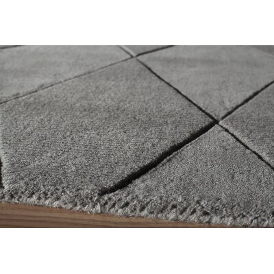 Bristol Hand-Tufted Gray Area Rug Rug Size: Runner 23 x 8