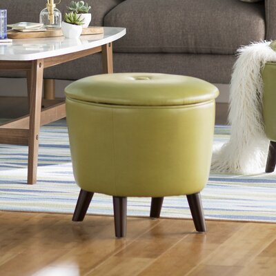 Helios Ottoman Upholstery: Green