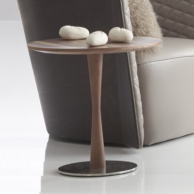 Erastos End Table Color: Light Walnut