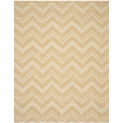 Nishi Beige Area Rug Rug Size: Rectangle 76 x 96