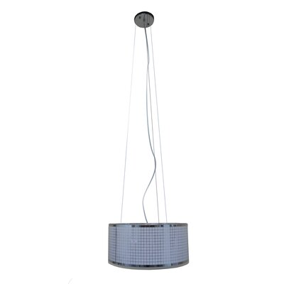 Mila 3-Light Drum Pendant