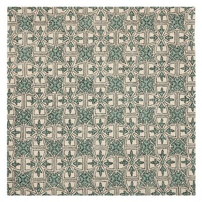 Vanderford Light Blue Rug Rug Size: Rectangle 4 x 6