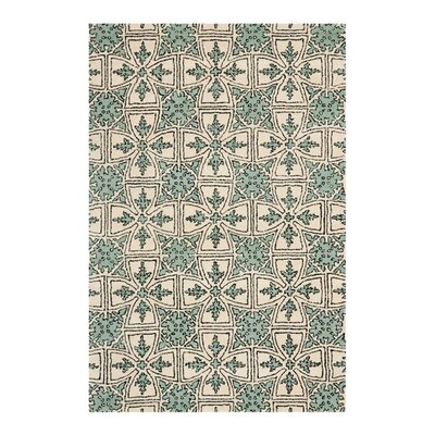 Vanderford Light Blue Rug Rug Size: 7 x 7 Square