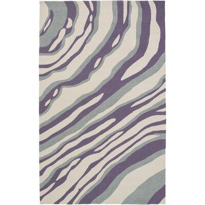 Mireia Gray/Light Gray Indoor/Outdoor Area Rug Rug Size: 8 x 10
