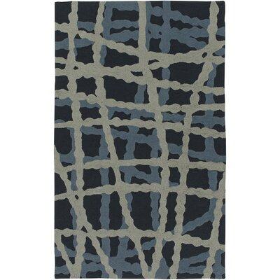 Mireia Navy/Light Gray Indoor/Outdoor Area Rug Rug Size: 8 x 10