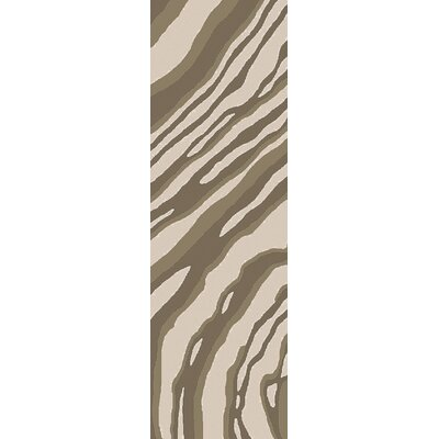 Mireia Beige/Light Gray Indoor/Outdoor Area Rug Rug Size: Runner 26 x 8