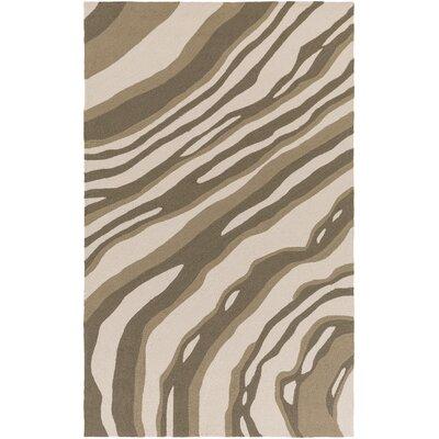 Summers Beige/Light Gray Indoor/Outdoor Area Rug Rug Size: 5 x 76