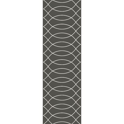 Summers Gray Indoor/Outdoor Area Rug Rug Size: Runner 26 x 8
