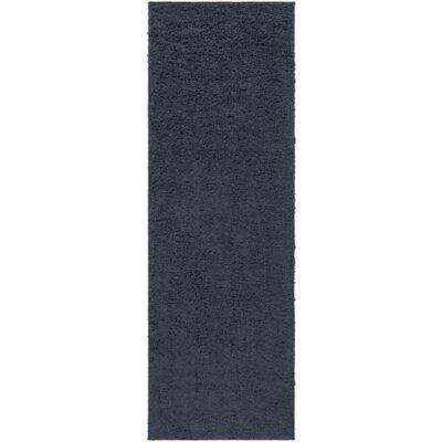 Bennette Navy Area Rug Rug size: Runner 27 x 8