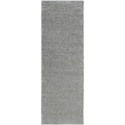 Bennette Gray Area Rug Rug size: Runner 27 x 8