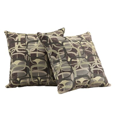 Bugbee Mod Geometric Print Throw Pillow