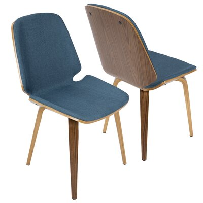 Division Street Side Chair Finish: Blue