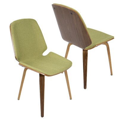 Division Street Side Chair Finish: Green