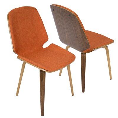 Division Street Side Chair Finish: Orange