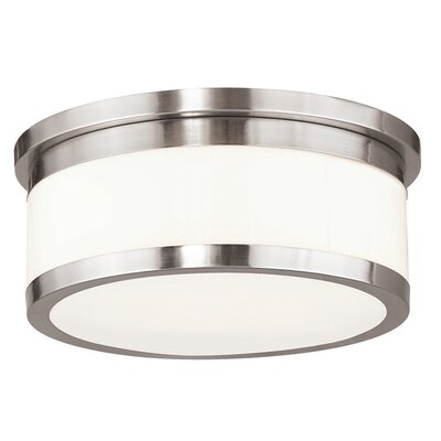 Canning 3-Light Flush Mount Finish: Brushed Nickel