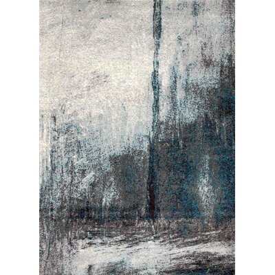 Hills Teal/Dark Green Area Rug Rug Size: Rectangle 6 7 x 9