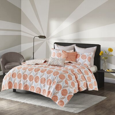 Langley Street Almondsbury Cotton 7 Piece Coverlet Set 85733A24FFC54BAC8165A590633F0F91