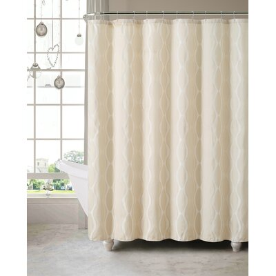 Wyss Shower Curtain Color: Ivory