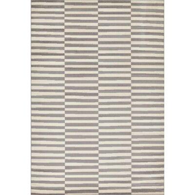 Braxton Warm Gray Area Rug Rug Size: 6 x 9