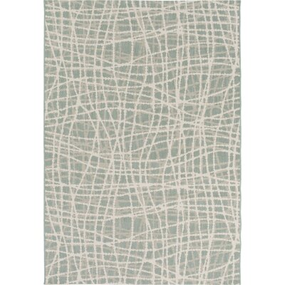 Moss/Ivory Indoor/Outdoor Area Rug Rug Size: Rectangle 4 x 56